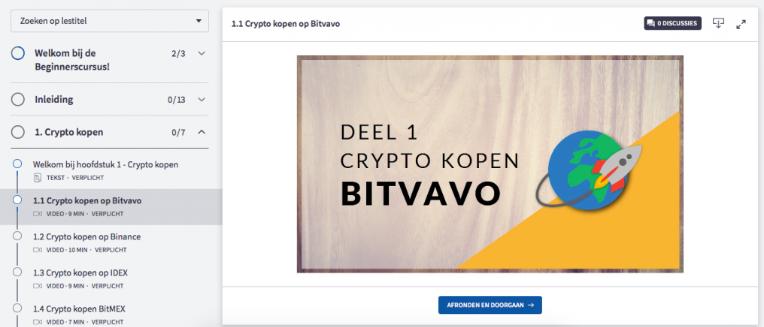 welkom bij de crypto beginnerscursus